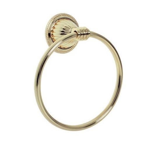 Держатель для полотенца кольцо Boheme Hermitage бронза 10324