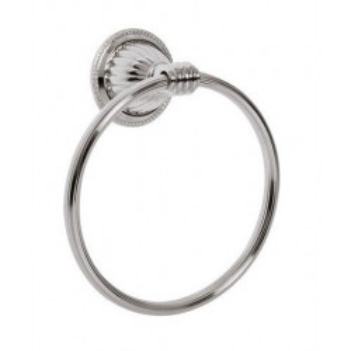 Держатель для полотенца кольцо Boheme Hermitage золото 10354