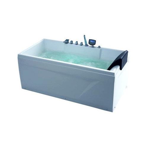 Акриловая гидромассажная ванна Gemy левая G9075 K L