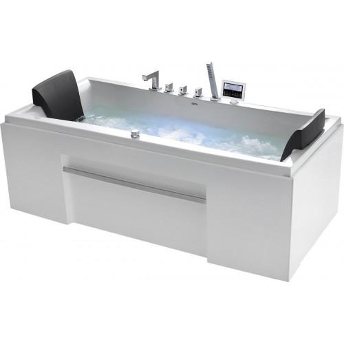 Акриловая гидромассажная ванна Gemy G9076 K