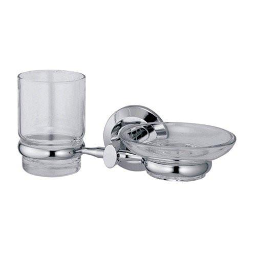 Держатель стакана и мыльницы Wasser Kraft Rhein К-6226
