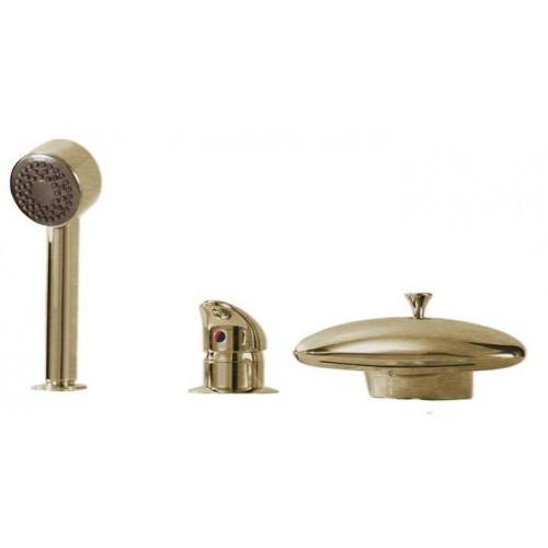 Смеситель для акриловой ванны врезной Boheme Medici Ripresa бронза 391