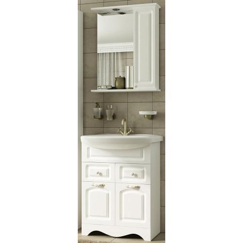 Комплект мебели Империя 60 правый белый, Francesca