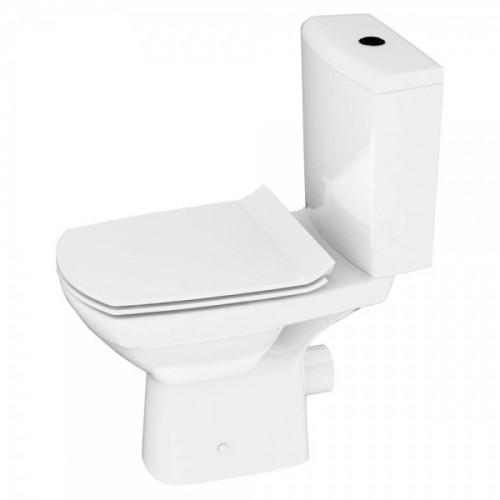 Унитаз-Компакт Cersanit Carina CleanOn ультра тонкое сиденье дюропласт SC.