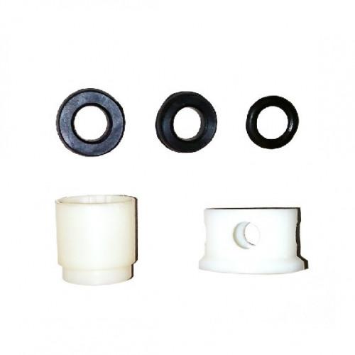 Кран смывной, с металлической трубой 75 см, с кнопкой, КРС-20-05, Металлик-Быт
