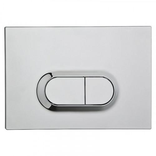 Контрольная панель двойного слива 711-2080 для инсталяции Vitra
