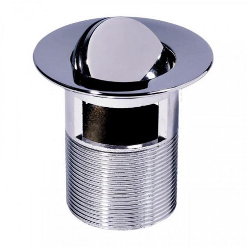 Водослив для умывальника 5/4 цельнометаллический с поворотной заглушкой WIRQUIN 32050001