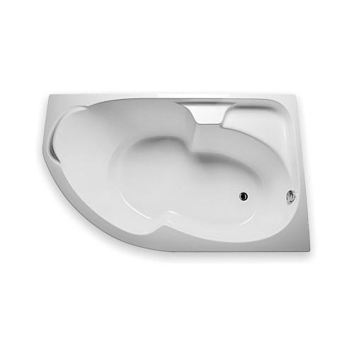 Ванна акриловая 160x100 см асимметричная, правая, Diana, 1MarKa
