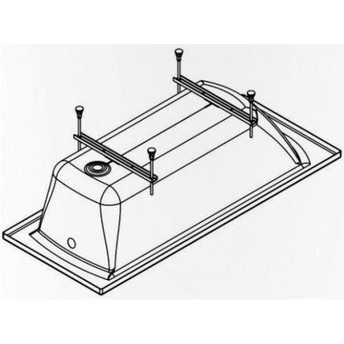 Комплект ножек для прямоугольной ванны Ove