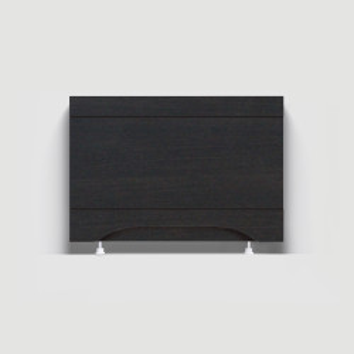 Экран под ванну 70 см, МДФ, торцевой, венге, Alavann