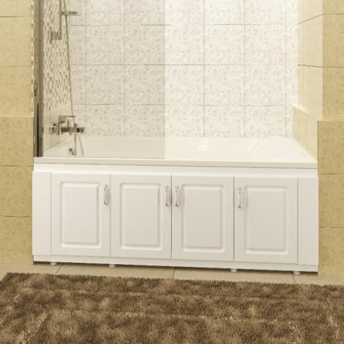 Экран под ванну 170 см, белый, Верона, СанТа