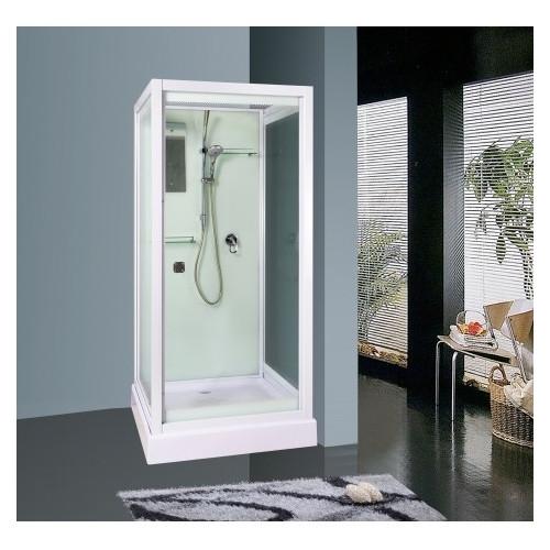 Душевая кабина 70x73 квадратная, прозрачное стекло, MOERO, River