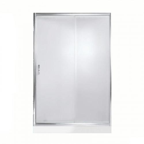 Дверь для душа Bering 140*185 матовое стекло, 2 створки, River
