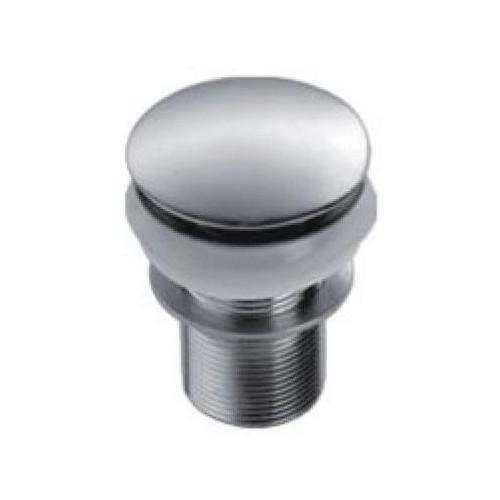 Донный клапан Zollen с системой клик-клак, с отверстием под перелив