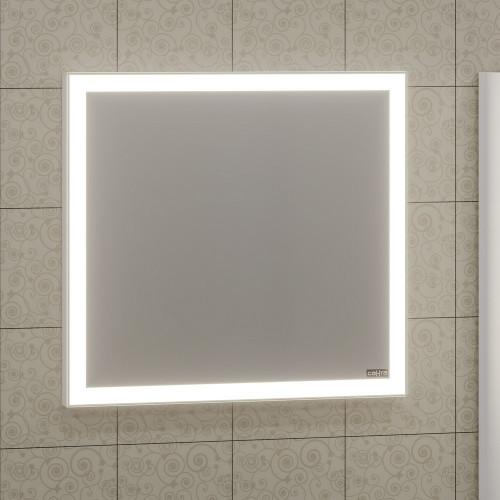 """Зеркало с подсветкой LED и инфракрасным выключателем """"Марс"""" 70x75 СанТа"""