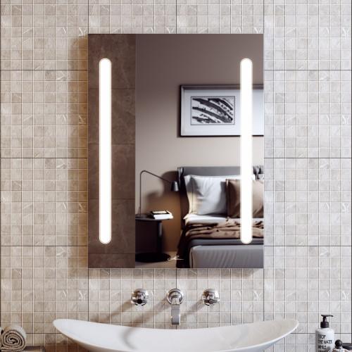 Зеркало с подсветкой LED Nota Duo 70, Alavann