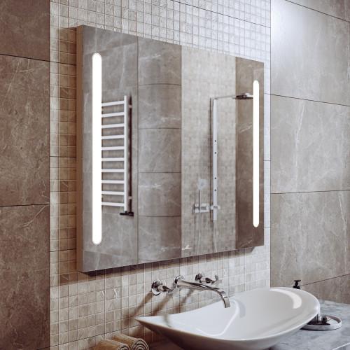Зеркало с подсветкой LED Nota Duo 80, Alavann