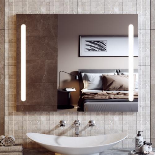 Зеркало с подсветкой LED Nota Duo 90, Alavann