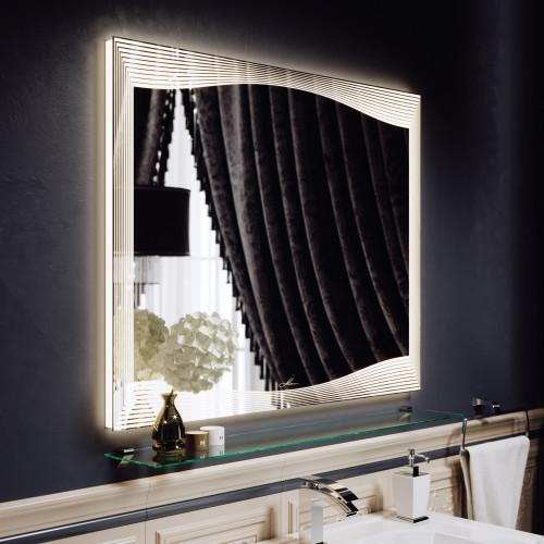 Зеркало с подсветкой LED Monaco 80, Alavann