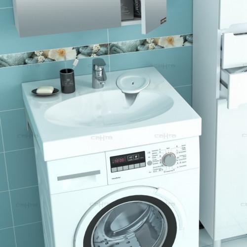 Раковина над стиральной машиной СанТа Луна 600/90/600 с кронштейнами