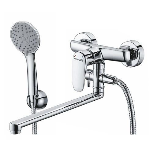 Vils 5602L Смеситель для ванны с длинным поворотным изливом, WasserKRAFT
