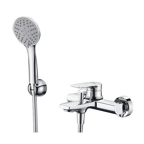 Смеситель для ванны с коротким изливом Lopau 3201 WasserKRAFT