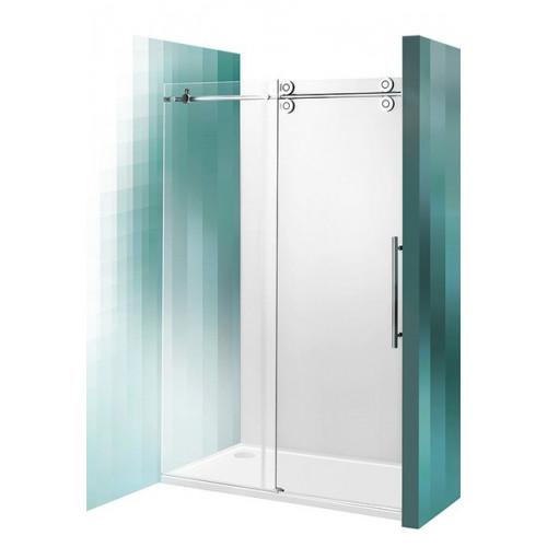 Душевая дверь 200 см, 2-х секционная сдвижная, Kinedoor Line, профиль хром, Roltechnik