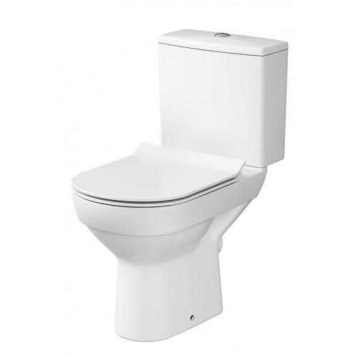 Унитаз-Компакт Cersanit City CleanOn ультра тонкое сиденье дюропласт SC.
