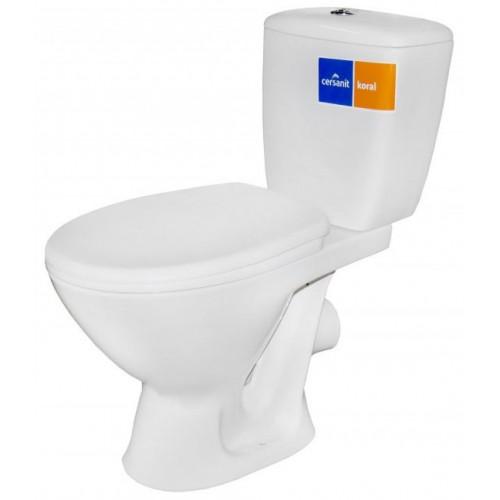 Унитаз-Компакт Cersanit KORAL K011 сиденье полипропилен.