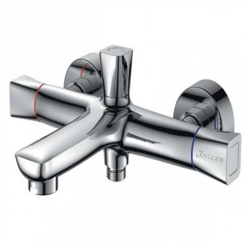 Смеситель ZOLLEN HEIDE для ванны короткий изл, с аксессуарами (арт. HE61620741)