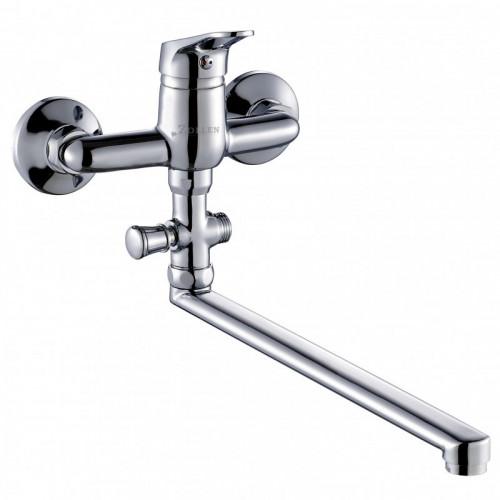 Смеситель ZOLLEN LEIPZIG для ванны нижний изл. 350 мм с аксес. (арт. LE62610441)