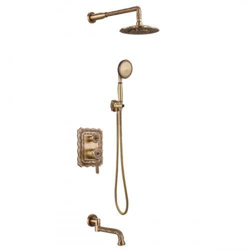 Смеситель Lemark Jasmine LM6622B для ванны и душа, встраиваемый
