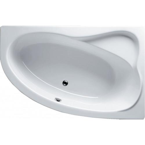 Акриловая ванна 153 x 100 см Lyra Left, Riho