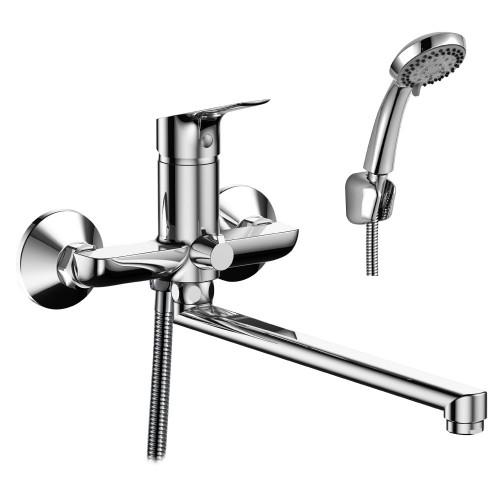 Смеситель Rossinka RS29-33 для ванны универсальный