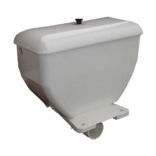 Бачок пластиковый низкого расположения, с полочкой, арматура шток, Киров