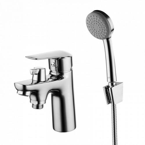 Смеситель на борт ванны на 1 отверстие с керамическим дивертором Torr, IDDIS, TORSB10i07