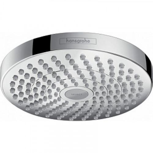 Верхний душ Croma Select S 180 2jet Ecosmart, хром, Hansgrohe