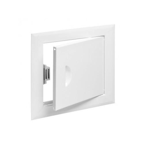 Люк-дверца ревизионная металлическая 250 x 400 белая, Виенто