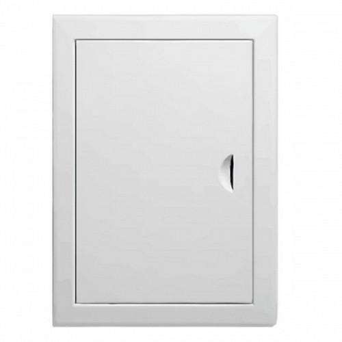 Люк-дверца ревизионная металлическая 200 x 400 белая, Виенто