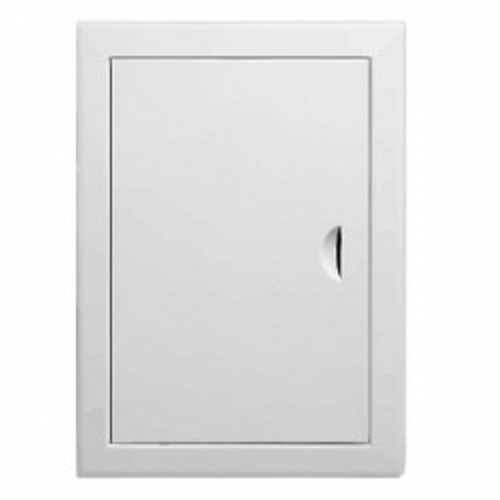 Люк-дверца ревизионная металлическая 250 x 500 белая, Виенто
