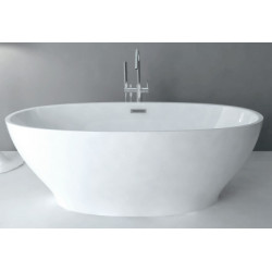 Акриловая отдельностоящая ванна ABBER AB9206