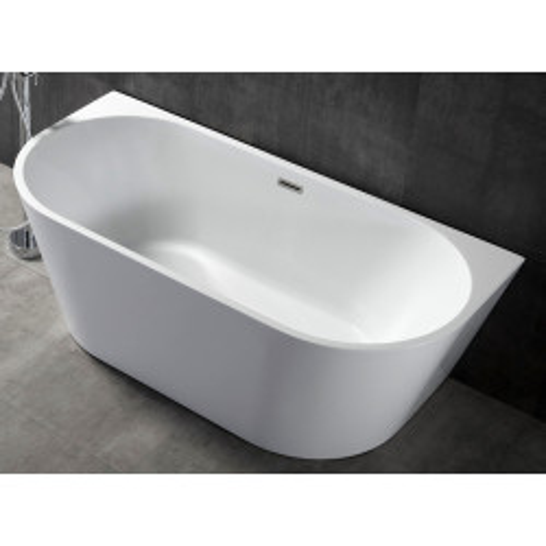 Акриловая пристенная ванна 170х80х60 см ABBER AB9216