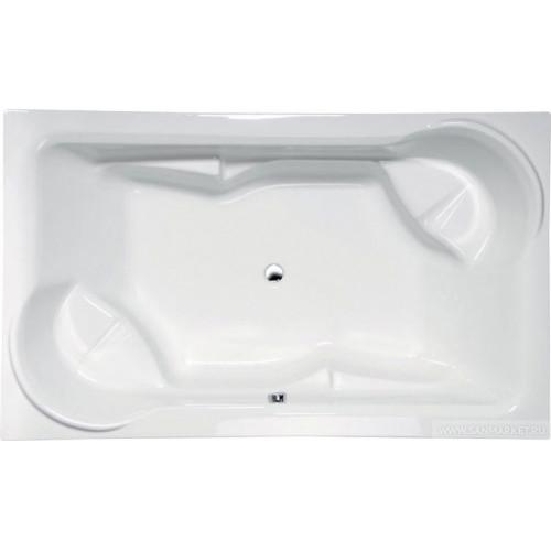 Акриловая ванна ALPEN Duo 200 x 125