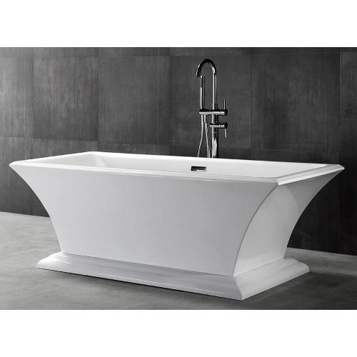 Акриловая отдельностоящая ванна ABBER AB9238