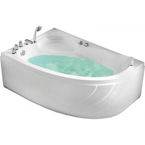 Акриловая гидромассажная ванна Gemy G9009 B L