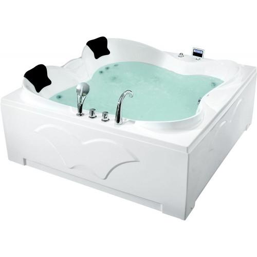 Акриловая гидромассажная ванна Gemy G9089 K L