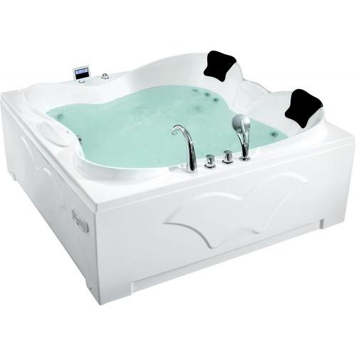 Акриловая гидромассажная ванна Gemy G9089 O L