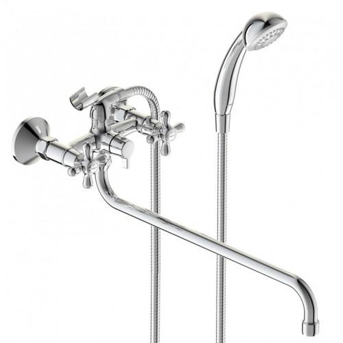 Смеситель для ванны/душа Retro, излив 400 мм, Vidima BA349AA