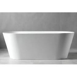 Акриловая отдельностоящая ванна 140х70х60см ABBER AB9204