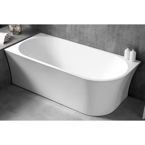 Акриловая отдельностоящая ванна 170х80х60см ABBER AB9243